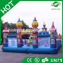 2015 Brand New Design inflatable fun city amusement park,inflatable amusement park equipment,fun city