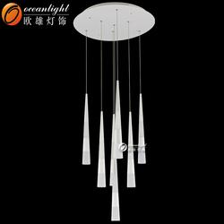 2015 new LED pendant lighting,wholesale crystal chandelier lamp OM88413-7