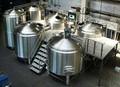 Pulido fino de la cerveza en casa equipo de la cervecería, Soldadura al arco de argón 500l 1000l elaboración de la cerveza