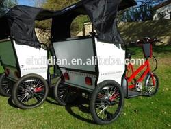 61NZ new wider body pedal/ 250W/500W electric pedicab/pedicab rickshaw/rickshaw/tricycle/trike MP3&speaker CE