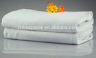 100% cottton white hotel towels