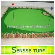 Easy installation comfortable golf putting green
