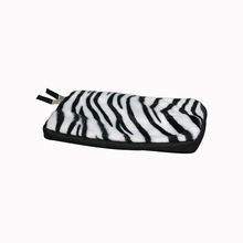 2015 High Quality Zebra Fluff Surface Neoprene Tablet Protective Case