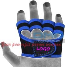 Custom Imprint Neoprene Weight Lifting Grips Pad Training Gym Straps Fitness Gloves Hand Wrist Support Hand