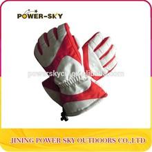 wholesale comfortable children's winter ski gloves custom