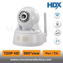 1 Megapixel 720P HD WIFI Wireless Network Home IP Robot Ball Camera