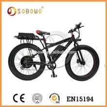 S19-2 48V 1000W fat tire range more than 100km electric off road bikes