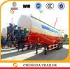 2015 China manufacture 3 axles 45cbm cement silo trailer with compressor