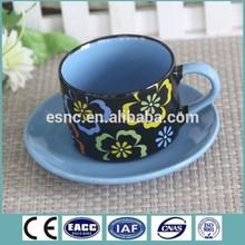 FDA,LFGB,SGS Certification and Cups & Saucers Drinkware Type ceramic