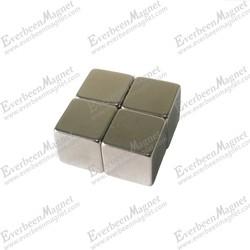 N35 cube neodymium magnet for jewelry