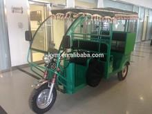 Rickshaw With Tarpaulin for India Market