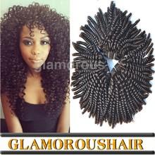 Virgin Mongolian kinky curly hair,100% human virgin hair weft