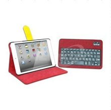 360 degree rotate detachable bluetooth wireless keyboard case for ipad mini