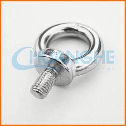 Alibaba china supplier white zinc plated large eye bolts