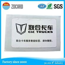 anti-tamper rfid car screen sticker