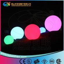RGB waterproof LED ring light led ball /modern outdoor hanging christmas ball plastic lighting led ball