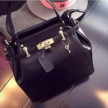 Fashion designer black handbag wholesale hand bag made in GuangzhouSY6043