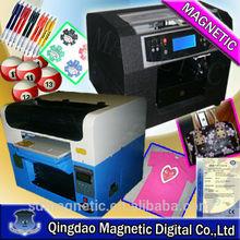 printing head 1900 practical flatbed t-shirt printer, 8 colors t shirt printer