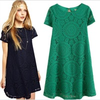 Sexy Women's Lace Floral Short Party Clubwear Mini Casual Dress