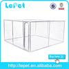 dog kennel run galvanized metal cage