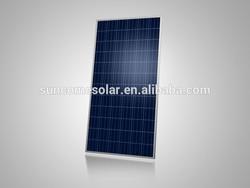 Suncome 305W poly PV Solar panel with IEC,TUV,CE,CEC