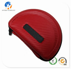 Headphone Full Size Hard Carrying Case - Red
