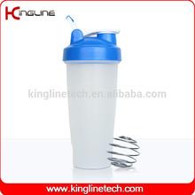 OEM 600ml bicycle plastic protein shaker bottle (KL-7010D)