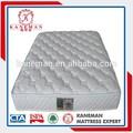 5cm gel de espuma de memoria 60kg cbm por metro cúbico de bolsillo de la bobina de la primavera de colchón