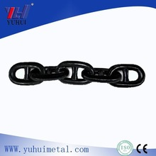 Black Bituminous Ship Stud Link Anchor Chain