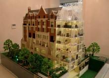 Mini-skyscraper Villa Miniature Architectural model supplier