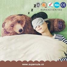 Factory direct home decor Bear Arm shape design car cushion