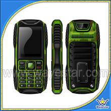 Outdoor dual sim rugged waterproof cell phone
