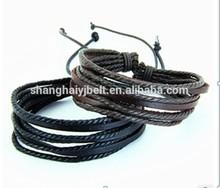 New Design Fashion rope Bracelets Wristband with pendants YJ-B033