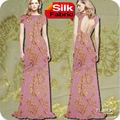 clip de flores de corte de lurex chiffon de seda lurex de seda gaze de seda tecido s21 estoque 1 metro moq