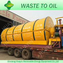 Small Waste Plastic Recycling To Oil Machine Sold to Brazil