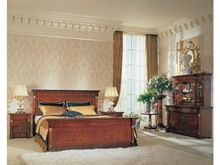 soild roble plane style master beds furniture sets2014