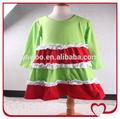 boutique de batas de vestir de manga larga de algodón niños largo diseños de vestidos de ganchillo bebé vestido