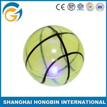High quanlity TPU Material Glitter Bouncing Ball