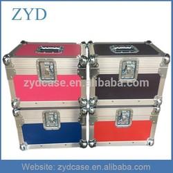 "7"" Single Aluminum Flight Case Record Box ZYD-HZMfc023"