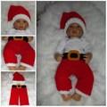 funny baby santa sombrero de la decoración de navidad sombrero de ideas