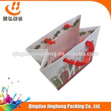 fancy gift bag with plastic hanger
