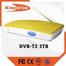HD dvb t2 FTA standrad for digital tv set top box can support free sample