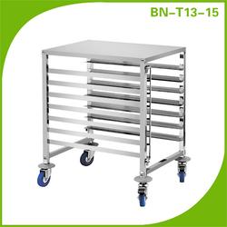 Stainless Steel 7 Layers Bun Pan Rack / Bakery Rack