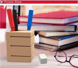 Fashion Promotional Silicone Pen Holder Box