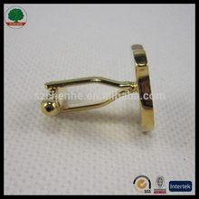 Low price professional brass cufflink manufacture in shenzhen