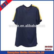 Latest design 2015 men soccer jersey wholesale thai cheap soccer uniforms royal blue football jersye shirt china
