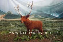 Hot Sale Factoty Trade Assurance Red Deer Robot Simulation Animal