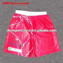 100% polyester custom wholesale mens basketball shorts