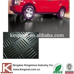 anti-slip round stud rubber sheet/Circular PVC floor sheet