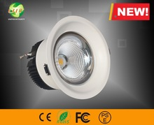 New products 2015 innovative product 6'' 40w cob ceiling lights dimmable led down light